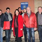 Die Vorstände des SPD-Stadtverbandes Coburg und des SPD-Kreisverbandes Coburg-Land sowie SPD-Bundestagskandidatin Doris Aschenbrenner beschäftigten sich mit der inneren Sicherheit.